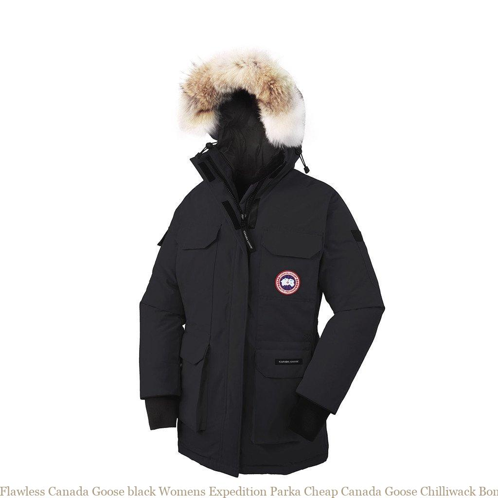 f1f65efda Flawless Canada Goose black Womens Expedition Parka Cheap Canada Goose  Chilliwack Bomber 131019713