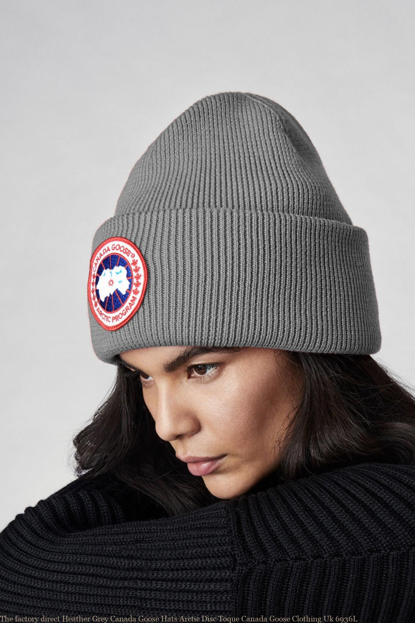 e84aca73636 The factory direct Heather Grey Canada Goose Hats Arctic Disc Toque Canada  Goose Clothing Uk 6936L – Cheap Canada Goose Coats Outlet Sale Black Friday